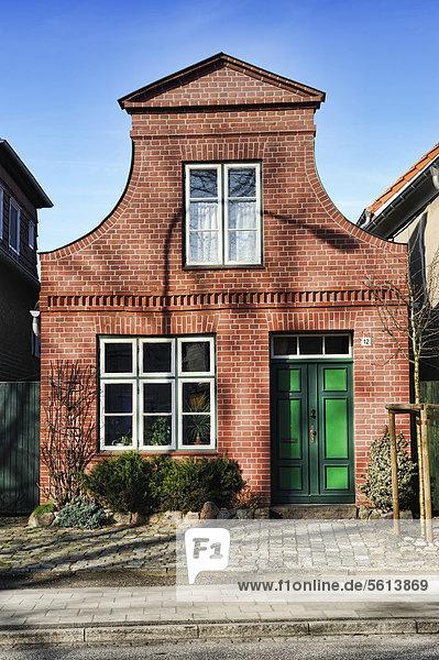 Europa Wohnhaus Geschichte Deutschland Schleswig-Holstein Travemünde