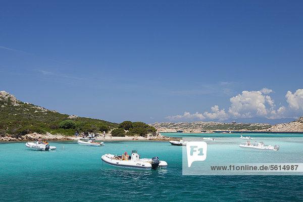 Insel Budelli  Parco Nazionale dell' Arcipelago di La Maddalena  Nationalpark Maddalena Archipel  Sardinien  Italien  Europa
