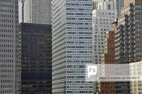 Vereinigte Staaten von Amerika USA Bankenviertel Amerika New York City Manhattan