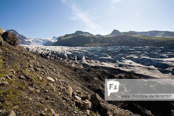 Vatnajökull glacier  Vatnajökull National Park  Iceland
