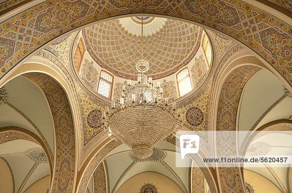 Kuppel der Freitagsmoschee in der Altstadt von Baku  UNESCO-Welterbe  Aserbaidschan  Kaukasus  Vorderasien