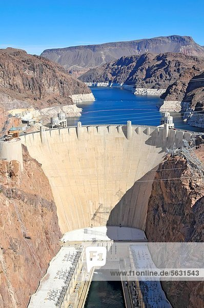 Hoover Dam Colorado River Lake Mead Nevada Arizona