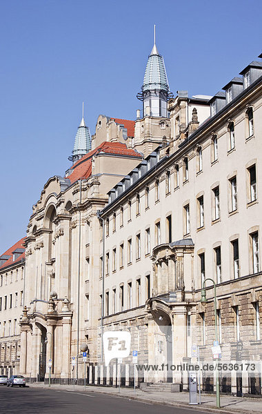 Berlin District Court  Littenstrasse street  largest regional court in Germany  Berlin  Germany  Europe