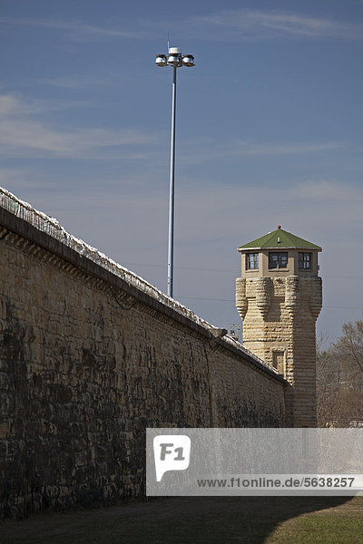 The Joliet Correctional Center  a prison which opened in 1858 and closed in 2002  Joliet  Illinois  USA