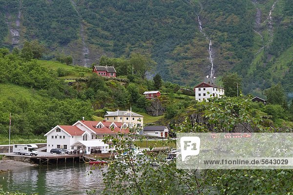 Views from the Bergen Railway route from Myrdal to the town of Flåm  Norway.