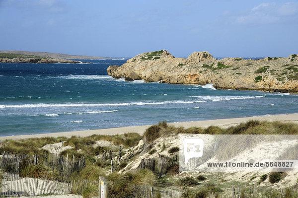 Europa Menorca Balearen Balearische Inseln Mittelmeer Spanien