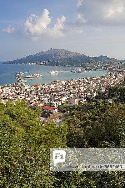 Stadtansicht Stadtansichten Europa Griechenland