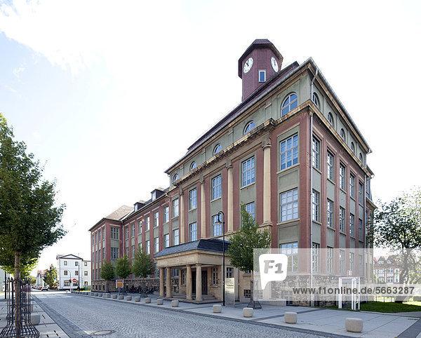 Technische Universität Ilmenau  Faradaybau  Ilmenau  Thüringen  Deutschland  Europa  ÖffentlicherGrund