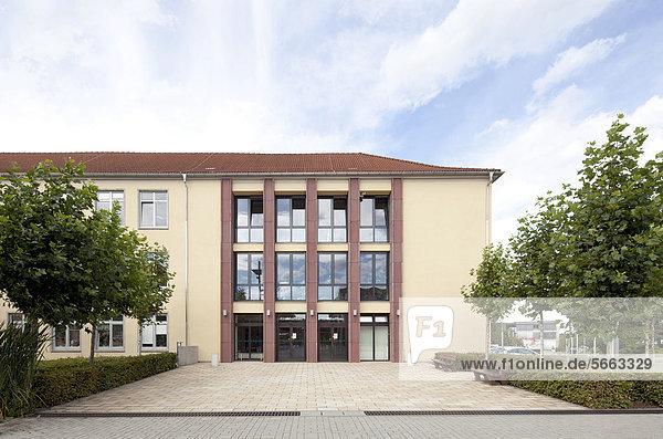 Technische Universität Ilmenau  Kirchhoffbau  Ilmenau  Thüringen  Deutschland  Europa  ÖffentlicherGrund