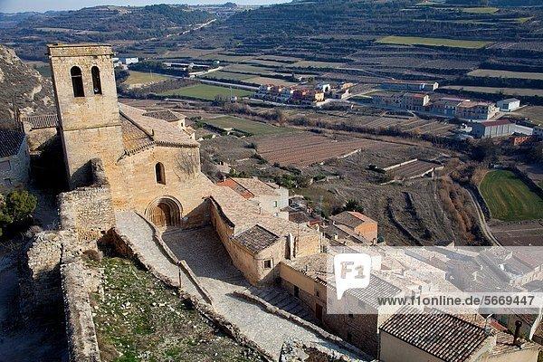 Church of Guimera  Village of Guimera  Lleida  Catalonia  Spain