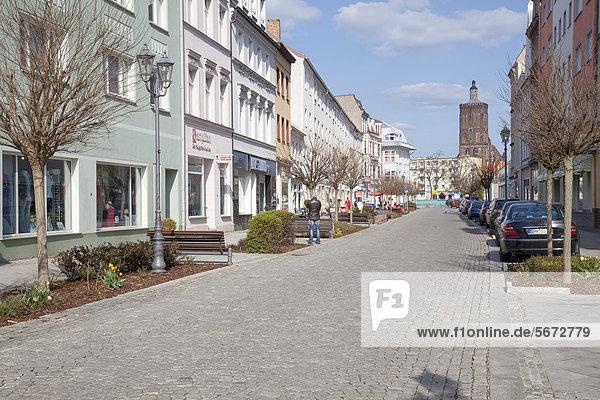 Frankfurter Straße  Guben  Brandenburg  Deutschland  Europa