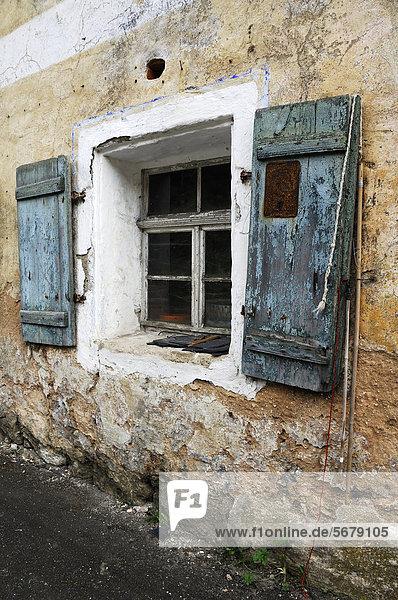 Europa Fenster Mühle Jalousie Bayern Deutschland alt Oberfranken
