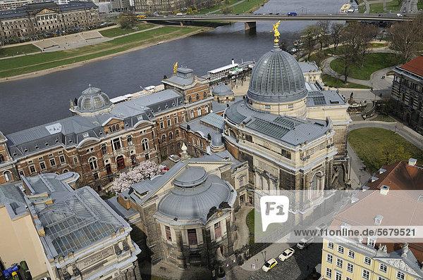 Dresden Academy of Fine Arts  Dresden  Saxony  Germany  Europe