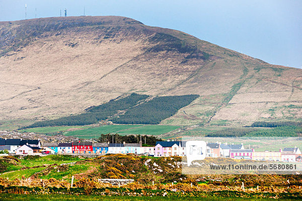 Village and mountains  allihies  county cork  ireland