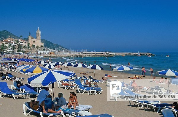 The Beach of Sitges