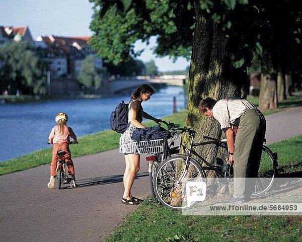 Sport  Fahrradfahrer  Fahrrad  Rad  Freizeit