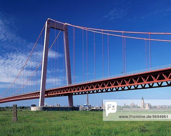 Hängebrücke  Nordrhein-Westfalen  Rheinland Hängebrücke ,Nordrhein-Westfalen ,Rheinland