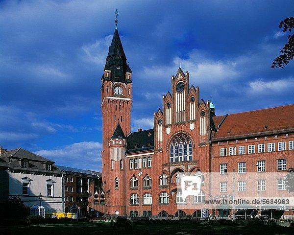 D-Berlin  D-Berlin-Koepenick  city hall Koepenick  tower  Brick Gothic