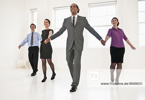 Mensch Büro Menschen Menschliche Hand Menschliche Hände halten Business