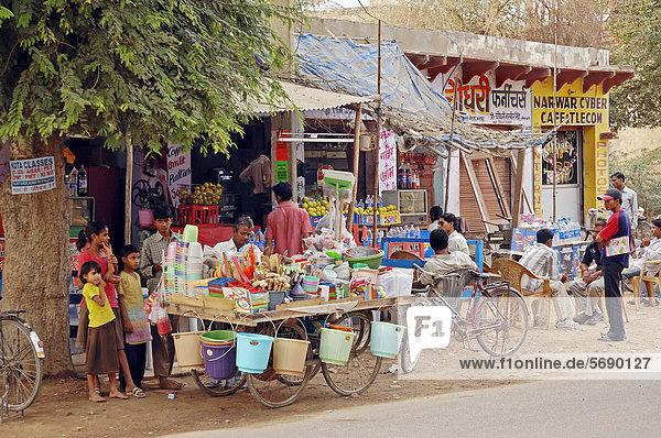 Shop in Bharatpur  Rajasthan  India  Asia  PublicGround