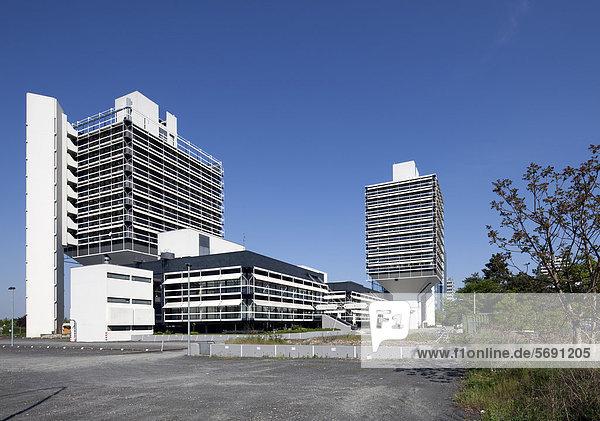 Bürogebäude Olivettihaus  Architekt Egon Eiermann  Bürostadt Niederrad  Frankfurt am Main  Hessen  Deutschland  Europa  ÖffentlicherGrund