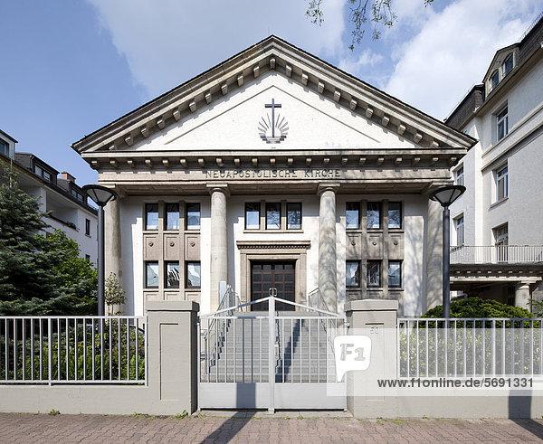 Neuapostolische Kirche  Frankfurt am Main  Hessen  Deutschland  Europa  ÖffentlicherGrund