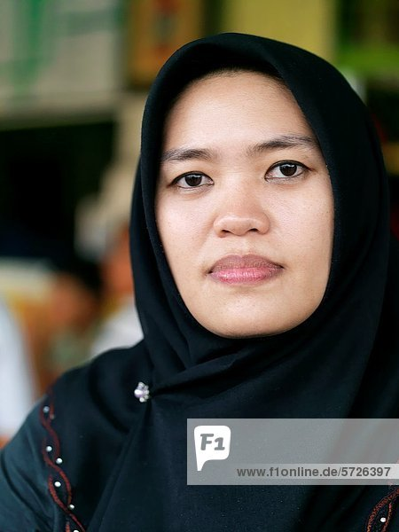 Portrait  Frau  jung  malaysisch