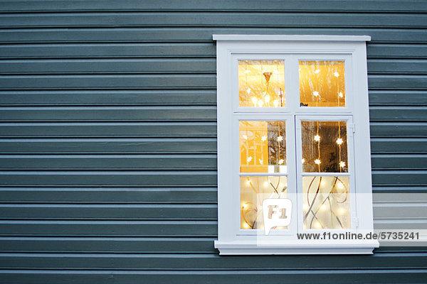 Weihnachtsbeleuchtung in der Witwe