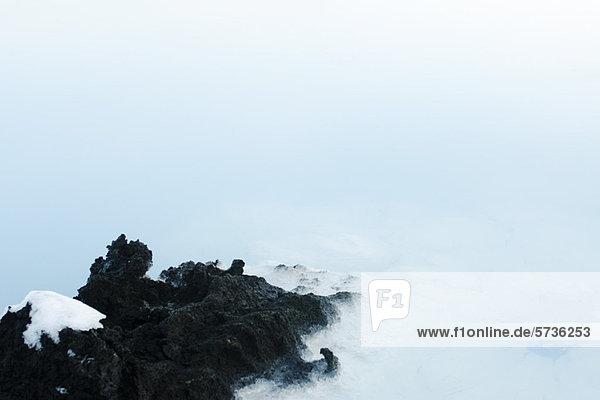 Blaue Lagune  Halbinsel Reykjanes  Island