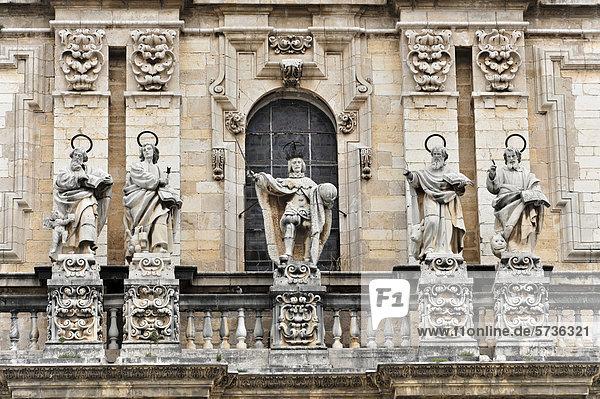Catedral de JaÈn  Kathedrale von JaÈn aus dem 13. Jahrhundert  Kunstepoche Renaissance  JaÈn  Andalusien  Spanien  Europa