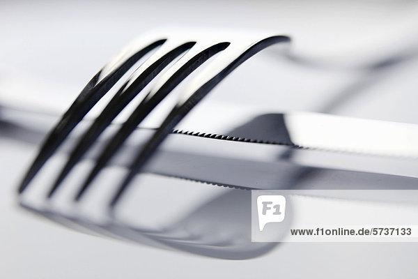 Besteck  Messer  Gabel