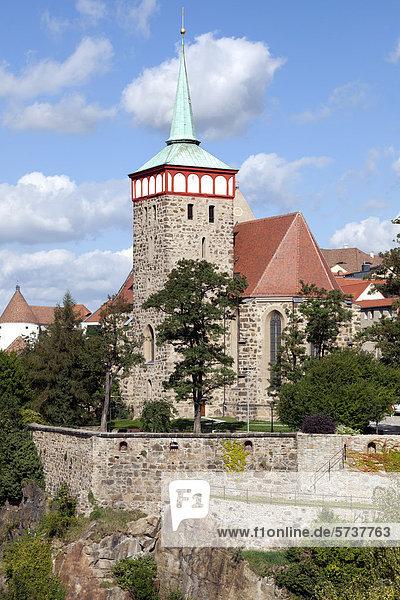 Michaeliskirche  Bautzen  Budysin  Lausitz  Oberlausitz  Sachsen  Deutschland  Europa  ÖffentlicherGrund