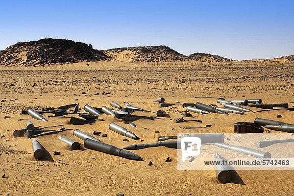 Kriegsmaterial  Tschad