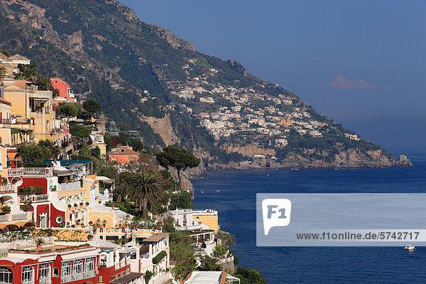 Amalfiküste Kampanien Italien