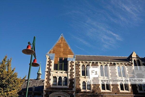 Gebaude Beschadigt Neuseelandische Sudinsel Christchurch Erdbeben Neuseeland