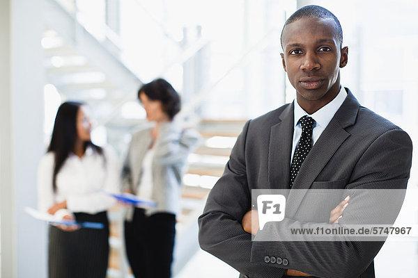 Geschäftsmann im Amt