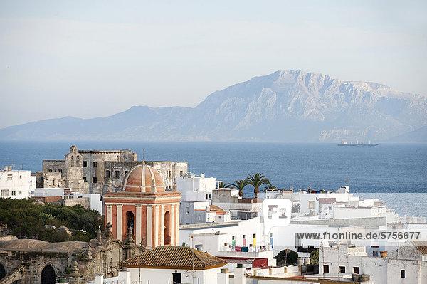 Europa Stadt Ansicht Andalusien Marokko alt Spanien Tarifa