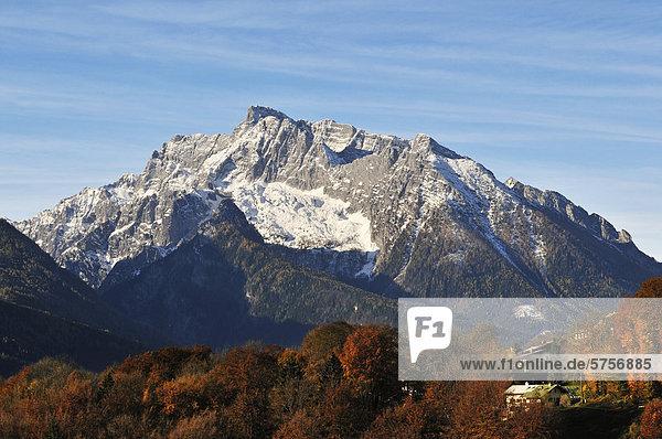 Hochkalter  Berchtesgadener Land  Oberbayern  Bayern  Deutschland  Europa