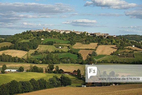 Frankreich Weg Tal Stadt Ignoranz