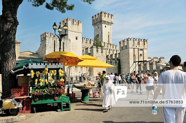 Palast  Schloß  Schlösser  Stadt  Tourist  antik  Italien  Lombardei