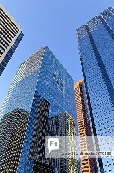 Innenstadt Reflexionen  TransCanada Tower  Calgary  Alberta  Kanada