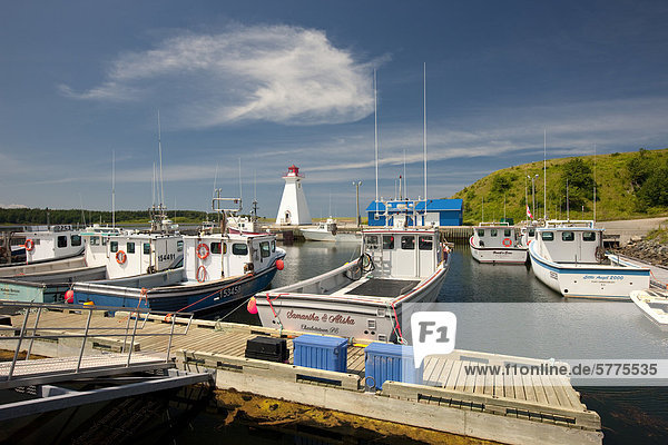 Hafen von Mabou  Cape Breton  Nova Scotia  Kanada