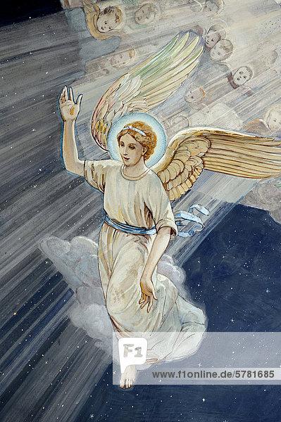 Nacht Religion Naher Osten Schafhirte Engel Freske Israel Platz Schiffswache
