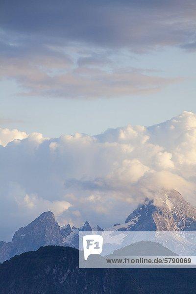 Watzmann  Berchtesgadener Alpen  Bayern  Deutschland