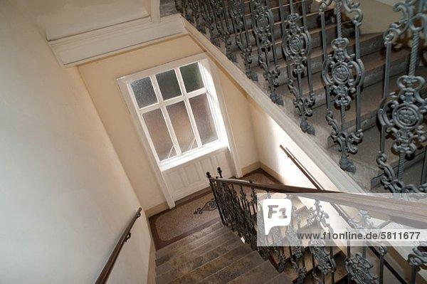 Gebäude Treppe alt