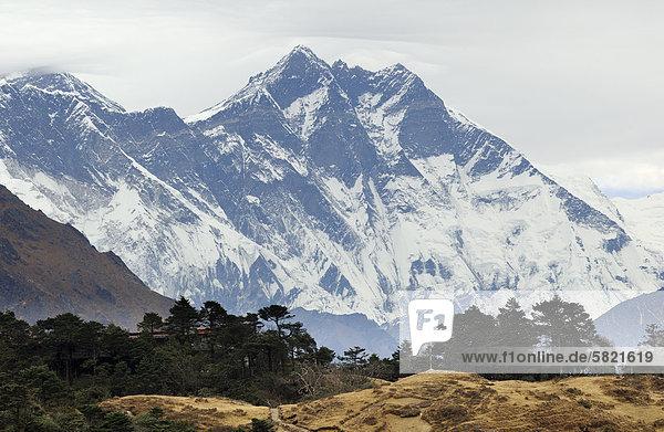 Lhotse Berg in Nepal