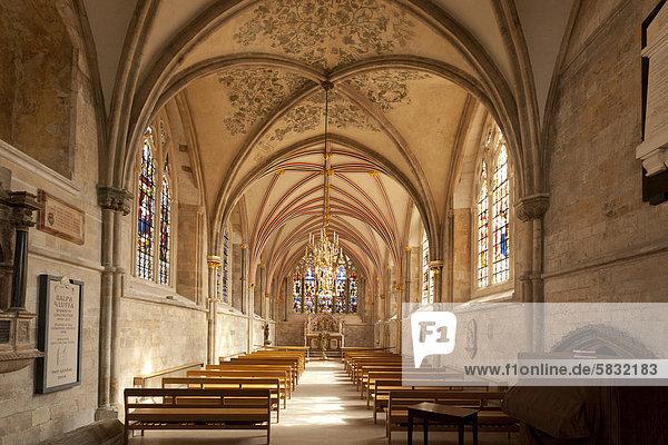Lady Chapel  Marienkapelle in der Kathedrale von Chichester  Chichester  West Sussex  England  Großbritannien  Europa