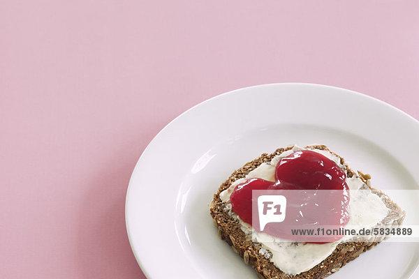 Stilleben  still  stills  Stillleben  Lifestyle  Brot  Marmelade