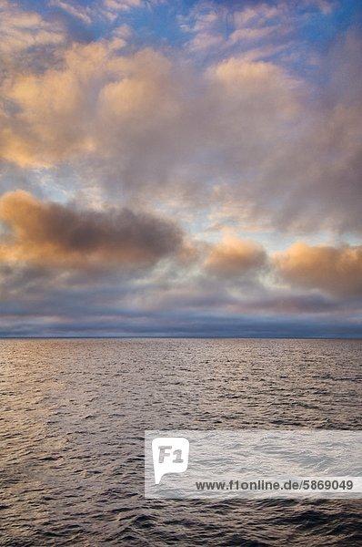 Arktischer Ozean  eisfrei im Spätsommer  Ostgrönland