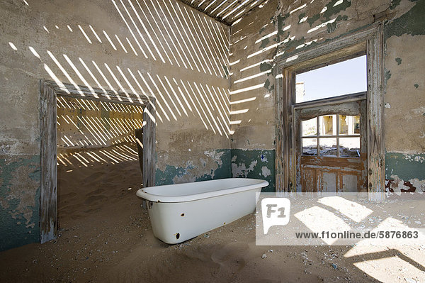 Wohnhaus Vernichtung Namibia Afrika Kolmanskop